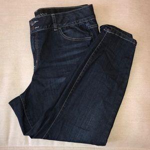 Lane Bryant skinny jeans. 18S short.